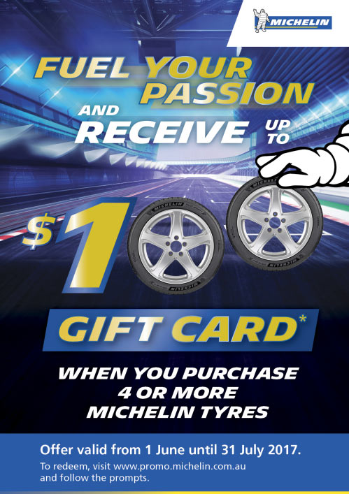 Fuel your passion and receive up to $100 as a gift card