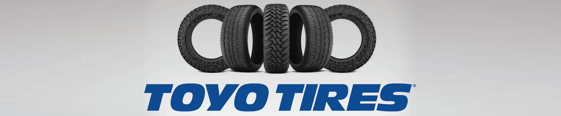 Toyo Tires Banner